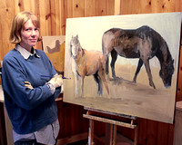 Artists of Whidbey Island:             Laura G. Hudson